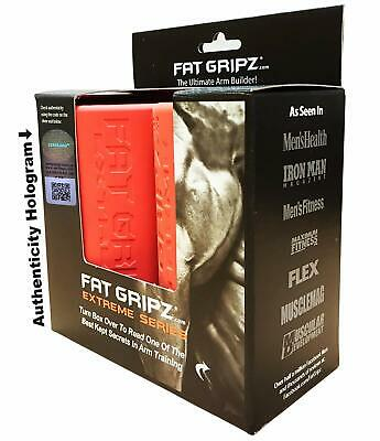 Fat Gripz Extreme Thick Bar Grip Training Body Building Bicep Muscle Builder