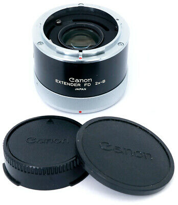 Canon FD Extender 2x-B teleconverter for lenses under 300mm in Excellent cond.