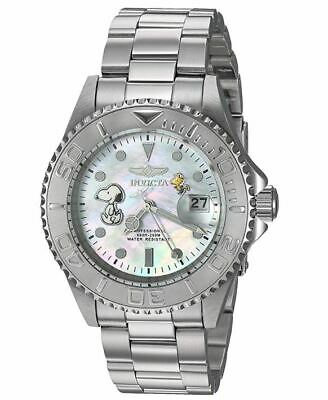 Invicta Pro Diver Character Collection Snoopy Men's Silver MOP Watch 28517 40mm