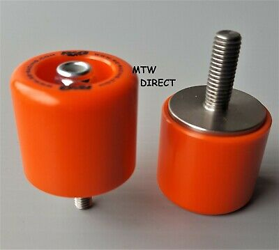 KTM 125 DUKE 2011-2018 R&G Racing orange fork crash protectors bobbins FP0106OR