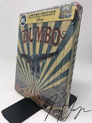 Dumbo Live Action [SteelBook] [2019] (4K Ultra HD + Blu-ray + Digital)
