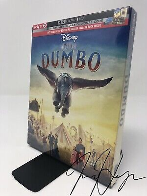 Dumbo Live Action (Target Exclusive) (2019) (4K Ultra HD + Blu-ray + Digital)
