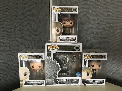 Lot 4 Funko Pop! - Game Of Thrones - POP - 3 NEUF ORIGINAL - 1 OCCASION FAUSSE
