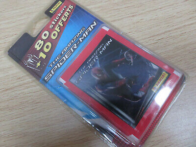 18 pochettes ( 90 stickers ) Panini The Amazing Spiderman Blister