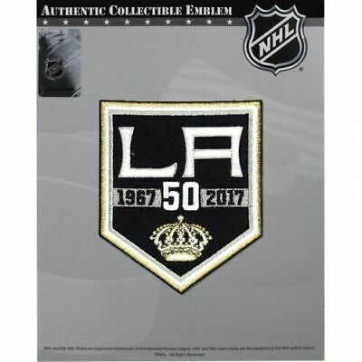 new arrival bd78f df94f NHL LOS ANGELES KINGS 50th ANNIVERSARY PATCH 2016/17 ...
