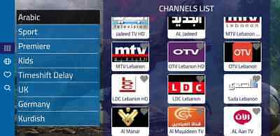 Arabic TV, Arabic Channels, Sports, IPTV, Europe, Persian, Lebanon, Turkish....