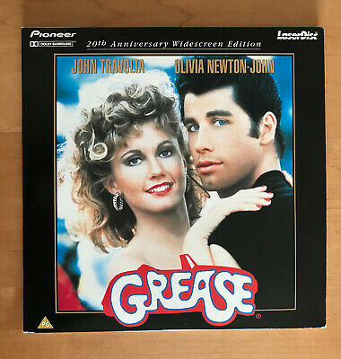 Grease 20th Anniversary Widescreen Laser disc PAL Europe import Anglais (2 LD)