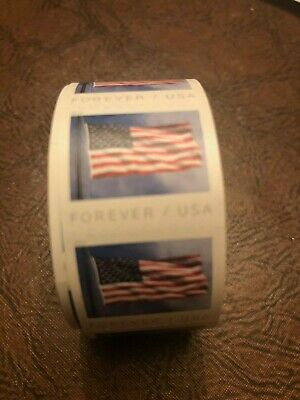 5 Sealed Rolls of USPS Forever Stamps (100 First Class stamps per roll)