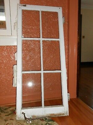 Vintage Colonial Grid Casement Windows  (7) Lot