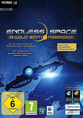 Endless Space Collection / Gold inkl. Disharmony DLC - STEAM Key Code - PC & Mac