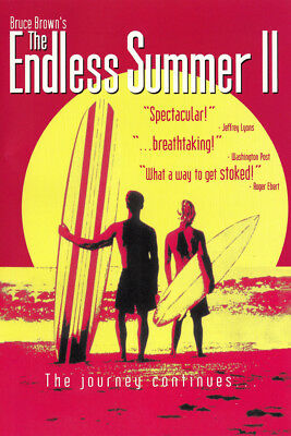 THE ENDLESS SUMMER V2 MOVIE LAMINATED FINE Art Poster 610x910mm (24x36in)