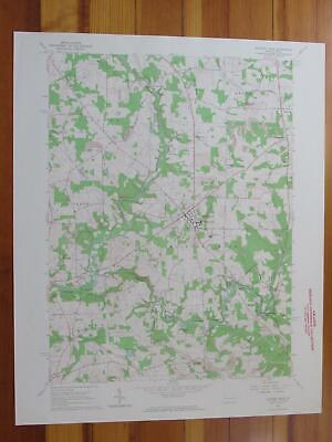 Slippery Rock Pennsylvania 1964 Original Vintage USGS Topo Map