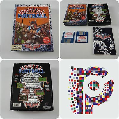 Brutal Football A Millennium Game for the Commodore Amiga tested & working VGC