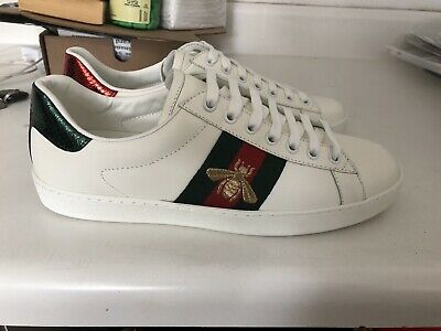 a15477255ab MEN S GUCCI ACE Bee sneakers shoes size 9.5 US -  330.00