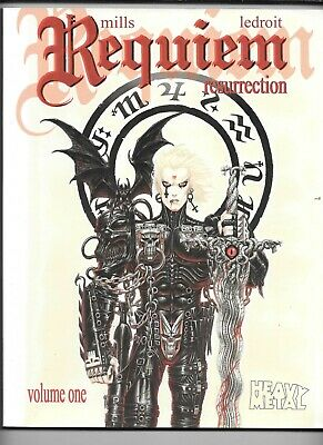 Requiem Resurrection Collected Vol 1 Mills Ledroit 2009 Heavy Metal VF SC 144 pp