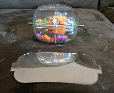 Evenflo Exersaucer FISH SPINNER/ MIRROR LOT of 2 Toys Mega Splash Rattle Parts