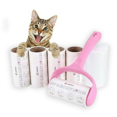 Veehoo Lint Roller Pet Hair Remover Rollers - Extra Sticky Fur Removal Kit