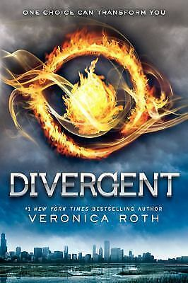 DIVERGENT: Divergent Series Book 1 by Veronica Roth, Paperback, 2014, Like New