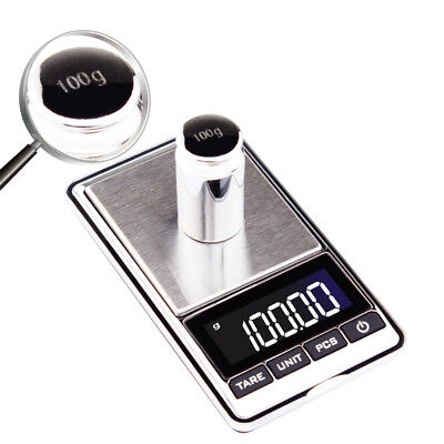 0.01-500g / 0.1-1000g Electronic Digital Gold Jewellery Weighing Kitchen Scales