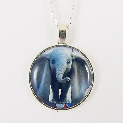 DUMBO NECKLACE disney live action tim burton big ears flying baby elephant cute