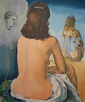 Salvador Dalí, My wife, Hand Signed Lithograph 40/250