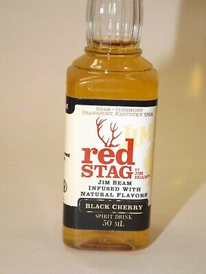 Red Stag by Jim Beam Whiskey 50 ml 40% vol. PET mini flasche bottle miniature