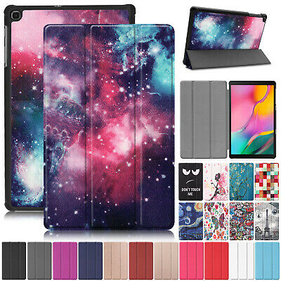 For Samsung Galaxy Tab 10.1 T515 T510 2019 Case Smart Leather Stand Slim Cover