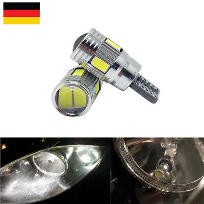 Canbus T10 6 SMD 5630 LED Xenon Lampen Innenraum Beleuchtung Standlicht Weiß