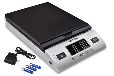 Accuteck S 50lbs x 0.2 Oz All-in-one Digital Postal Scale with AC A10-2