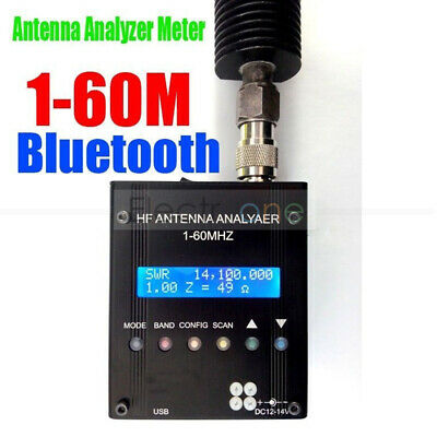 MR300 Digital Shortwave Antenna Analyzer Meter Tester For Ham Radio +Bluetooth