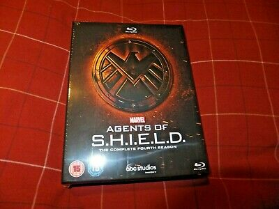 Marvel Agents of SHIELD Complete Season 4 Blu-Ray Digibox New Sealed very RARE