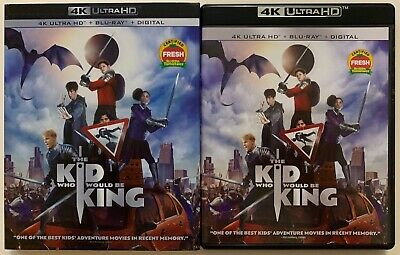 The Kid Who Would Be King 4K Ultra Hd Blu Ray 2 Disc Set + Slipcover Sleeve Buy