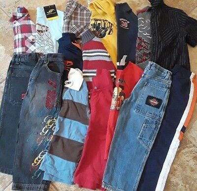 Boys Clothes Lot of 16pc. Harley Davidson Jeans,JNCO,Nike,Gymboree etc.4  5 5/6T