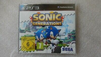 Sonic Generations PS3 PROMO Game Rare for Sony PlayStation 3