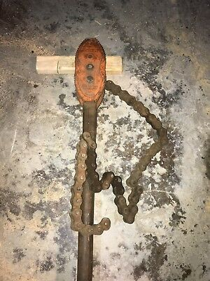 """Vulcan 35 Improved Chain Wrench 2 To 12"""" Pipe"""