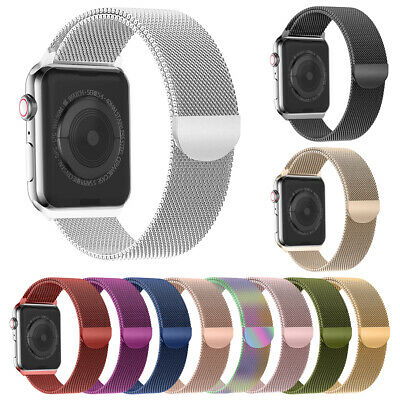 Magnetic Milanese Strap Loop iWatch Band for Apple Watch 38/40/42/44 Stainless