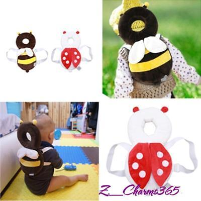 Baby Infant Toddler Newborn Head Back Protector Safety Pad Harness Headgear HD