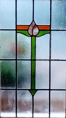Stained Glass Panel - Rescued and restored -   Ref 54