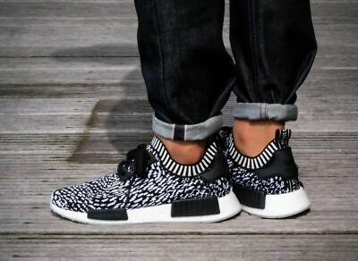 f828e96117d0e ADIDAS NMD R1 Trainers Black Burgundy Olive Exclusive Trainers Shoes ...