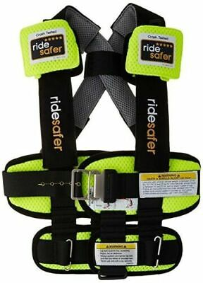 Ride Safer Delight Travel Vest, Small Yellow – Includes Tether and Neck Pillow