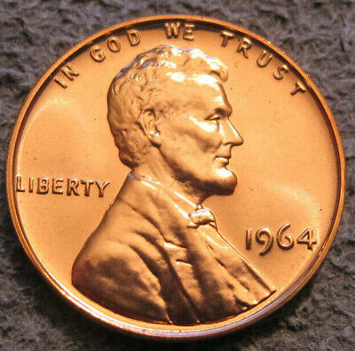 As Shown - 1964 P Lincoln Cent // A Beauty From A Proof Set // 125