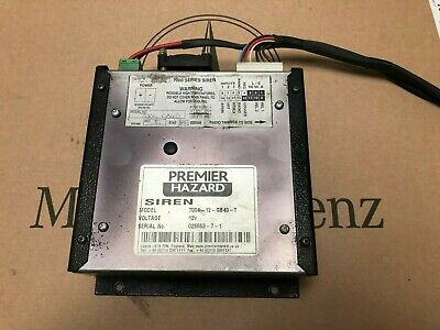 Premier Hazard Siren Amplifier   7004-12-Gb35-T ...Wouw...