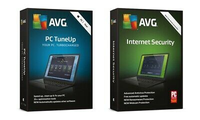 AVG Internet Security & ANTIVIRUS 2019,64 bit/ 2 YEAR License