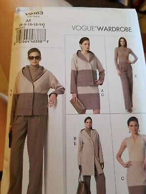 Vogue 8678 Misses/' Jacket Top Skirt /& Pants Pattern Sz 8-14 or 16-24