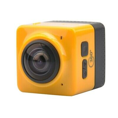 1X(Cube 360 Wifi 360 Degree Wide Angle Action Camera Sports Cam Recorder Wi D8E9