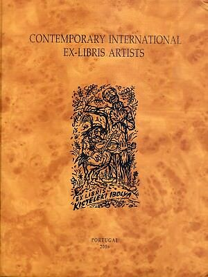"VI Volumen de la colección ""Contemporary International Ex-Libris Artist"".Nº 1"