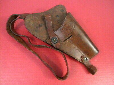 WWII US Era M3 Leather Shoulder Holster Marked: US Boyt 1943 for Colt M1911A1 #1