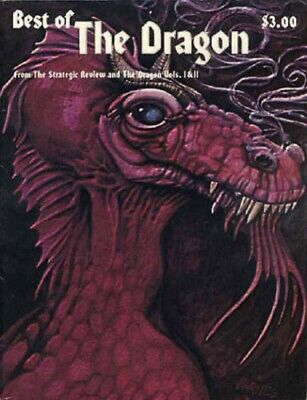 Best Of The Dragon Magazine 1980 Collectors Spe.edition Vol I & Ii