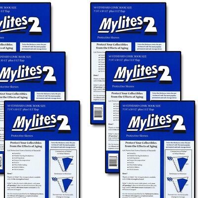 300 Factory Sealed Gerber Mylites2 STANDARD (= SILVER Mylar) FREE PRIORITY MAIL