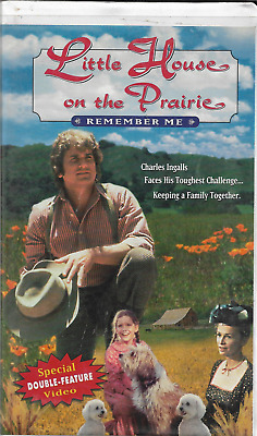 Little House on the Prairie - Premiere Movie/Remember Me (VHS, 2002, Clamshell)